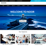 NoorLite WordPress Theme
