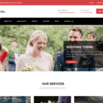 Nuptial Wordpress Theme