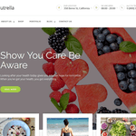 Nutrella Wordpress Theme