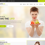 Nutrigen Wordpress Theme