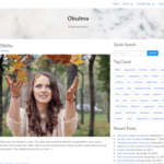 Obulma WordPress Theme
