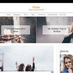 Ocius Wordpress Theme