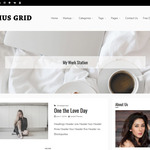 Ocius Grid Wordpress Theme