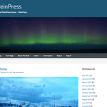 OleinPress WordPress Theme