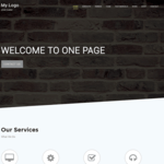 One Page C WordPress Theme