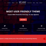 One Page Power Wordpress Theme