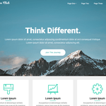 One Pageily Wordpress Theme