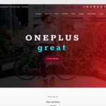 oneplus Wordpress Theme