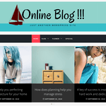 Online Blog Wordpress Theme