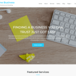 Online Business WordPress Theme