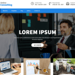 Online Consulting Wordpress Theme