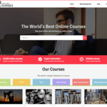 Online Courses Wordpress Theme