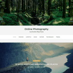 Online Photography WordPress Theme