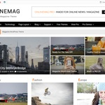 OnlineMag Wordpress Theme