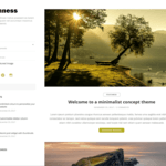 Openness WordPress Theme