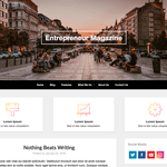 Optimized Classic Wordpress Theme