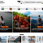 Orange Magazine Wordpress Theme