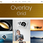 Overlay Child Grid WordPress Theme