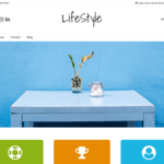 Overlay Child Lifestyle WordPress Theme