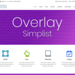Overlay Child Simplist WordPress Theme