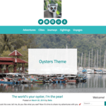 Oysters Wordpress Theme