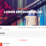 Oziz Wordpress Theme