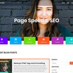 Page Speed & SEO Wordpress Theme