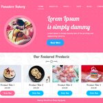 Panadero Bakery Wordpress Theme