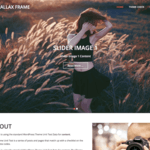 Parallax Frame WordPress Theme