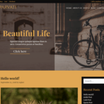 Parvati Wordpress Theme