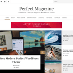 Perfect Magazine Wordpress Theme