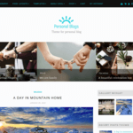 Personal Blogs WordPress Theme