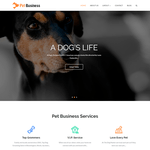 Pet Business Wordpress Theme