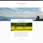 Photo Diary WordPress Theme