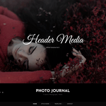 Photo Journal WordPress Theme