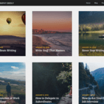 Photography Gridly Wordpress Theme