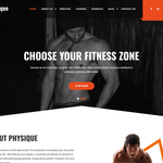 Physique Wordpress Theme
