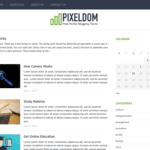 Pixeldom Lite Wordpress Theme