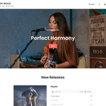 Pop Rock WordPress Theme