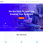 Popular Business WordPress Theme