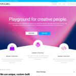 Popularis Wordpress Theme