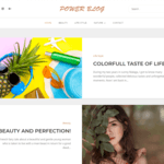 Power Blog WordPress Theme
