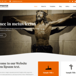 Prayer Lite WordPress Theme