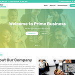 Prime Business Wordpress Theme