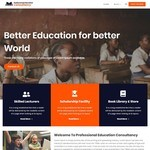 Education Consultancy WP Theme