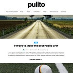 Pulito Clean Blog Lite WordPress Theme