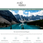 Pure & Simple Wordpress Theme