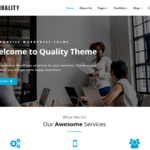 Quality Wordpress Theme