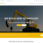 Quality Construction Wordpress Theme