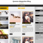 Queens Magazine Blog Wordpress Theme